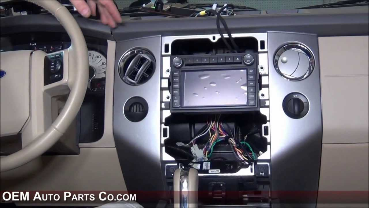 20092014 Ford Expedition Sync 1 Factory GPS Navigation Radio Upgrade  Easy Plug & Play Install