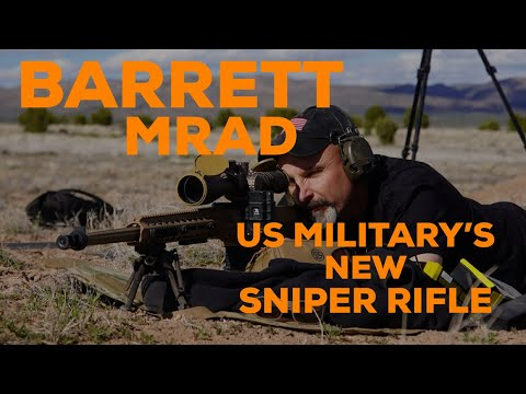 Testing The New Barrett MRAD With Special Forces Sniper Kevin Owens