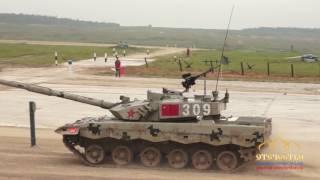 Танковый биатлон: Китай, Азербайджан, Монголия, Кувейт