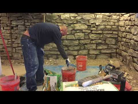 Basement Stone Walls
