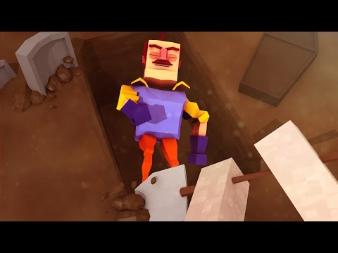 Minecraft | Hello Neighbor - I KILLED THE NEIGHBOR! (Hello Neighbor in Minecraft)