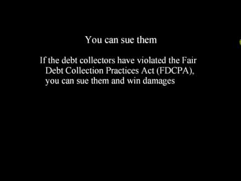 Stop Debt Collectors -- Do They Own Your Debt?