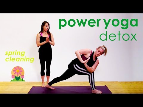Power Yoga Detox ❀ Spring Cleaning 2018