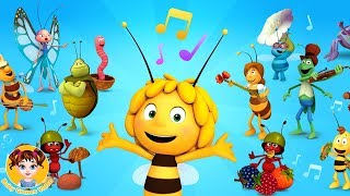 Maya The Bee Music Band Academy for Kids - Baby Games Videos