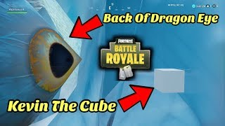 FORTNITE - DRAGON EYE IN POLAR PEAK | INSIDE POLAR PEAK GLITCH!