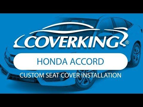 How to Install 2013-2017 Honda Accord Custom Seat Covers   COVERKING®