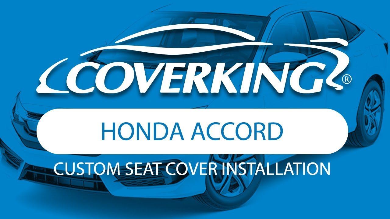 Coverking® 20132017 Honda Accord Custom Seat Cover