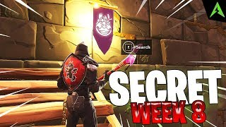 TOMATO TEMPLE IS * SECRET LOCATION * FOR WEEK 8 IN FORTNITE!