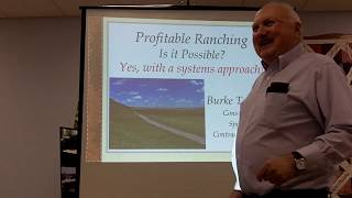 "Part I (1 hour) of II (30"") Comanche Pool Coffee Shop  Burke Teichert - Profitable Ranching 3/2019"