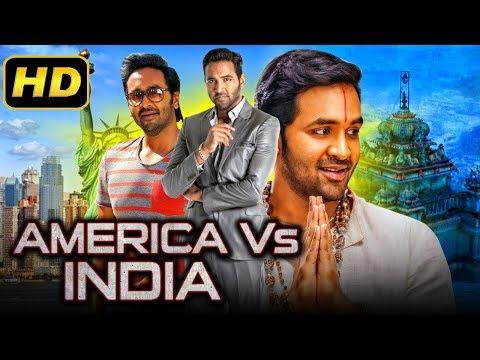 America Vs India 2 (2019) Telugu Hindi Dubbed Full Movie   Vishnu Manchu, Brahmanandam