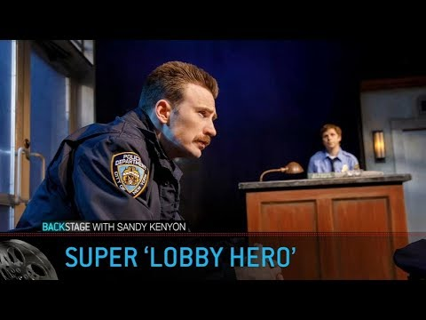 Backstage with Sandy Kenyon: 'Captain America' star Chris Evans on Broadway