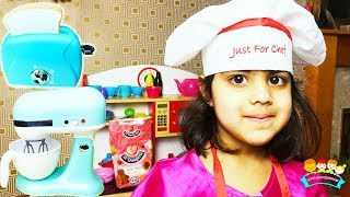 Ashu Pretends PRINCESSES Cooking Learn & Play with Toys for Kids