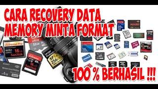 Cara Recovery Data SD card yg Minta Format Terus !! Terbukti 100% Berhasil