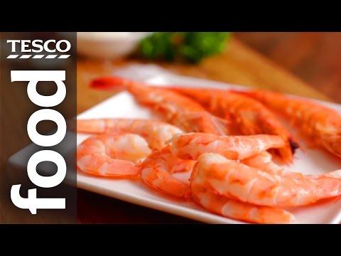How to Peel and Prepare Prawns   Tesco Food