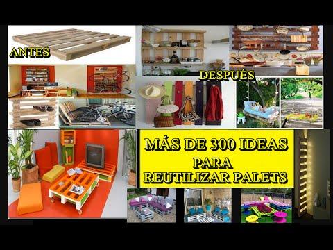 M s de 300 ideas para hacer cosas con palets reciclados - Ideas para palets ...