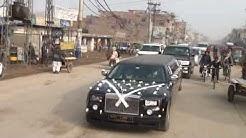 Rolls Royce Phantom Limousine Wedding Gujranwala Pakistan