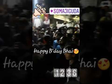 Somajiguda Zameer bhai ka birthday