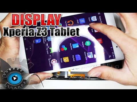 Sony Xperia Z3 Compact Tablet Display Wechseln Tauschen Reparieren [Deutsch/German]