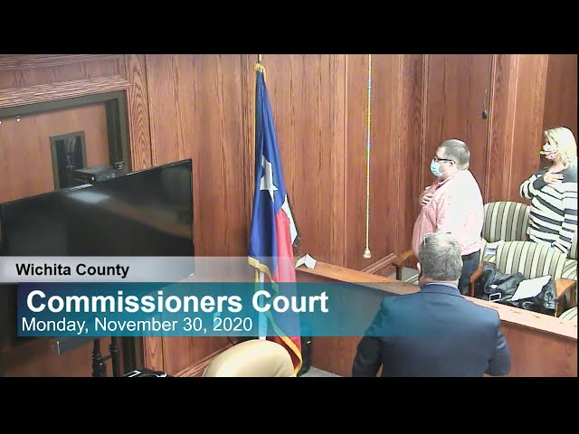 Commissioners Court 11/30/2020