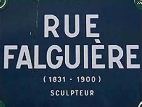 Rue Falguière Paris Arrondissement  15e