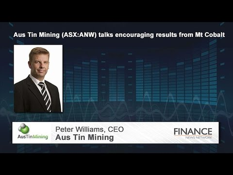 Aus Tin Mining (ASX:ANW) Talks Encouraging Results From Mt Cobalt