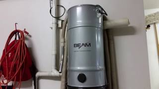 Beam 287S Central Vacuum