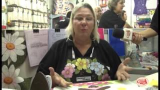 Márcia Caires ensina usar o decore fix da decorart apliques