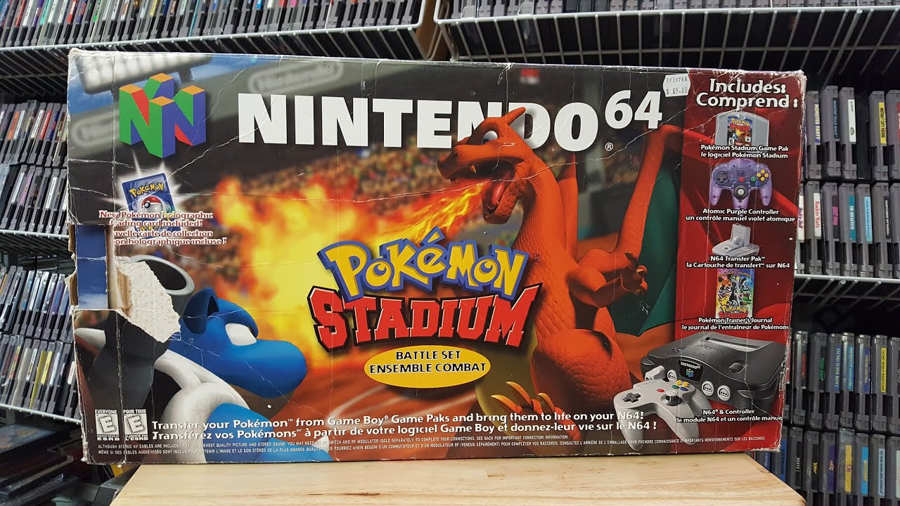 The Forgotten N64 Bundle – Pokemon Stadium Battle Set