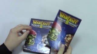 Распаковка WarCraft II: Battle.net Edition