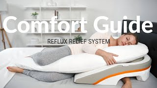 medcline reflux relief sleep system comfort guide