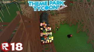 Roblox - Episode 18 | Theme Park Tycoon 2 - Virage plat / FR