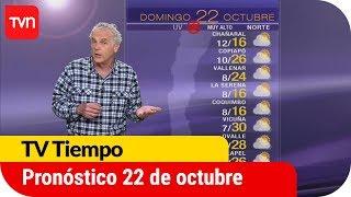 Pronóstico para este domingo 22 de octubre | TV Tiempo