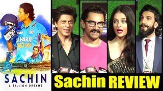 Bollywood Celebs REVIEW Of Sachin Movie   Shahrukh,Aamir Khan,Aishwarya Rai