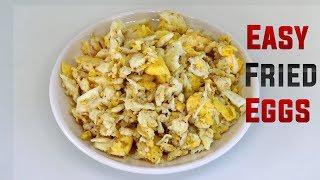 Easy Indian Scrambled Eggs