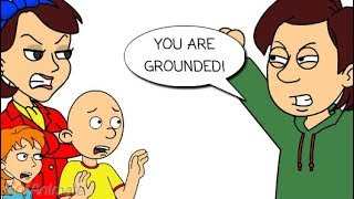 Boris grounds Caillou for everything