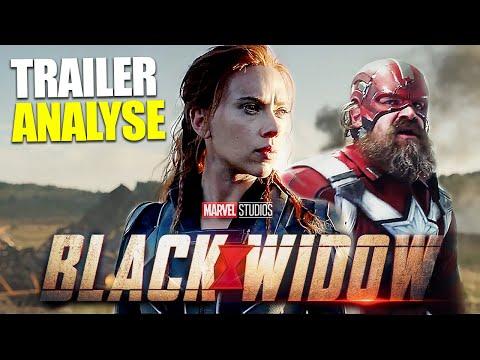 BLACK WIDOW TRAILER [ANALYSE]