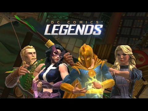 DC Legends: New Characters Revealed (Black Canary, Dr Fate, Castaway Green Arrow and Huntress)
