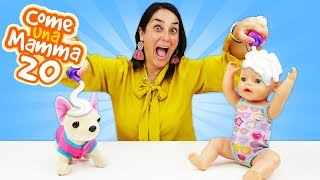 Video con protagonista la bambola Nenuco. Giocare con la sabbia. Giochi per bambini