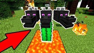 НАПАДЕНИЕ ЖУТКОГО КАКТУСОВОГО МОНСТРА! - (Minecraft SkyGiants)