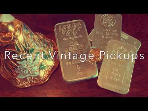 1986 Gold Panda (1/20 oz), Vintage Silver Bars, SWEET 🔔