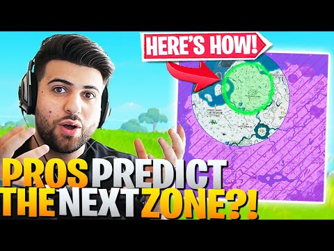Pros DISCOVERED How To PREDICT Next Zone! (Here's How) - Fortnite Battle Royale