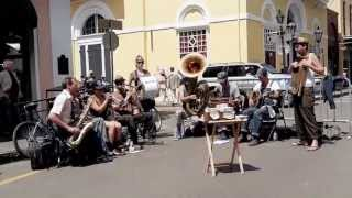 "Tuba Skinny - ""Savoy Blues"" - Royal St. 4/12/13      - MORE at DIGITALALEXA channel"