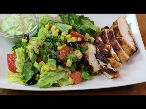 Southwestern Chicken Salad How to Make Southwestern Chicken Salad with Creamy Avocado Dressing