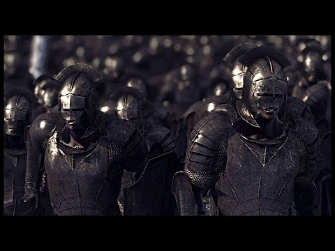 Savage Uruk-hai Horde Attacks - Isengard vs Gondor | Rise of Mordor Mod Gameplay