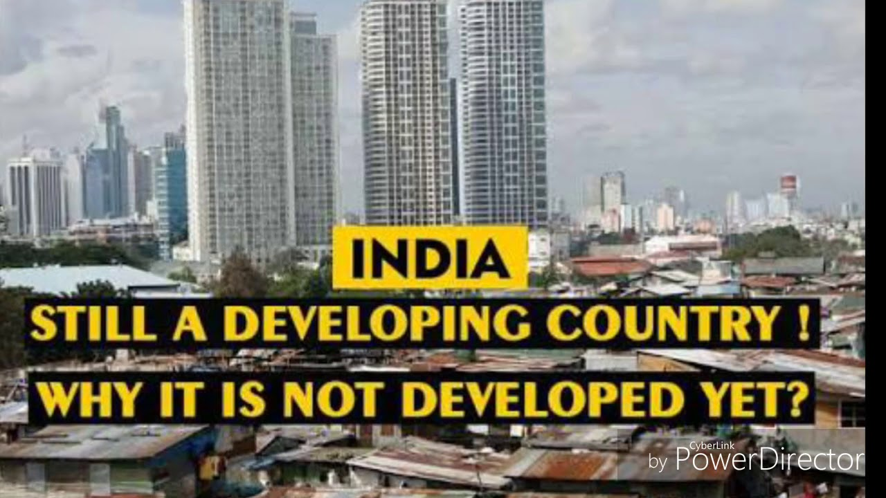 india is a developing country or developed country