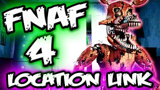 FNAF 4 LOCATION SECRET || The Missing Link? || Five Nights at Freddy's 4 Explained