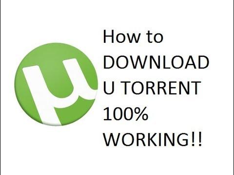 HOW TO DOWNLOAD ''U TORRENT'' 100% Working FREE!!