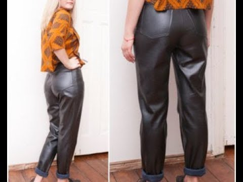 from Nicolas women in leather pants youtube