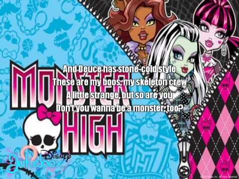 Monster High - Fright Song | Karaoke Sing-Along