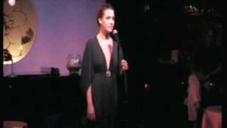 "Maude Maggart sings ""Superstar"" at the Gardenia open mic"